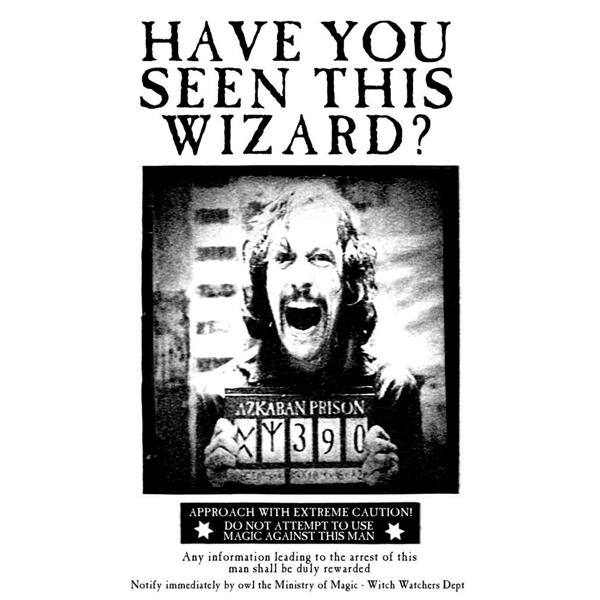 Sirius Wanted Tote Bag Design